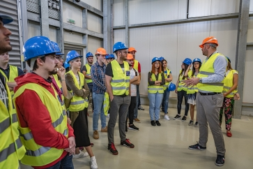 STUDENTS OF FACULTY OF ELECTRICAL ENGINEERING VISIT SS LASTVA